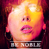 Be Noble - Donna from Doctor Who