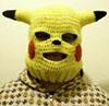 в жолтой шапочке