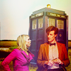 doctor who; eleven/rose tardis