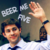 high five, jim