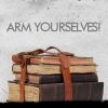 inkvoices: dr who:arm yourselves (with books)