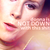 Jude: doctor who; donna is not down with this