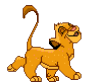 симба, лев, львенок