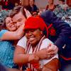 With Kurt & Rachel (Hug)