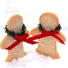 food : baking snowpeople