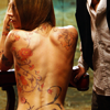 Heroes - Lydia tattooed back