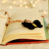 books: butterfly bookmark