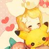 ceci: vocaloid: hug pikachu