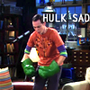 hulk is sad, hulk hands