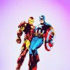 Avengers: Cap and Iron man 1