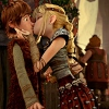 Hiccup Astrid Kiss