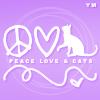 cαтѕ; peace, love