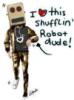 shuffling robot