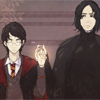 Harry Potter // Snape/Harry #3
