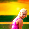 Gabby: rebekah pink