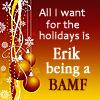 xmen: holidays - BAMF Erik