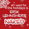 xmen: holidays - naked Erik