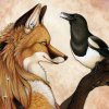 fox and magpie