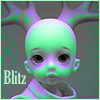 Blitz - antlers and bald