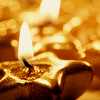 F. J.: shalowater: golden candles