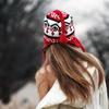 спина в шапке