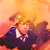 ginger vic: harry potter: ron; little lion man
