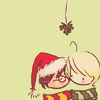 it's weird to have a vibrating cat on your head: {hp} h/d: mistletoe