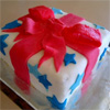 Baking; cake; present