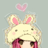 bunny, hat