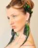победитель конкурса, мария козлова, серьги с перьями, дизайнер украшений