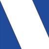 на синем диагональ