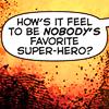 Comic Unfavorite Superhero