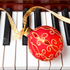 Holiday: Ornament on Piano