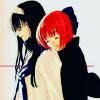 Tsukihime: Akiha/Kohaku hug