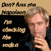 checking the vodka