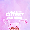 {friends} chandler - cutest bunny