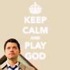 keep calm castiel