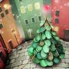 зима елка город
