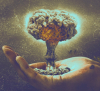Tura: atom hand - color