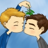 fififolle: SGA - L/P mistletoe kiss