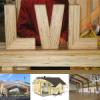 брус LVL, проектирование, строительство, Клееный брус лвл, большепролетные конструкции