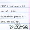 writing: damnable panda