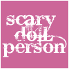 scary doll person
