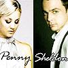 Frust-sheep: TBBT: Penny&Sheldon-bwwithcolor