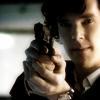 Sherlock with gun