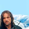 ˚ * 。●★ skywalker ★● 。* ˚: lotr } aragorn } snowy mountain