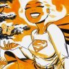 supergirl (new frontier smile)