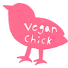 vegan chick - pink