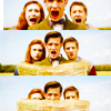 ☮ + ♡ + ☺: doctor who - ponds;  1 2 3
