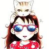 девочка и кошка 8